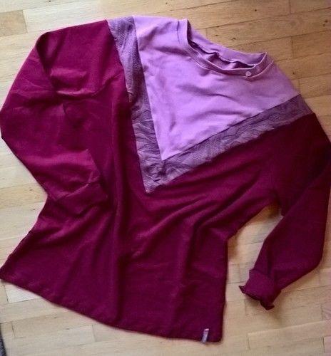 Makerist - Langarmshirt aus Sommersweat für meine Schwester - Nähprojekte - 1