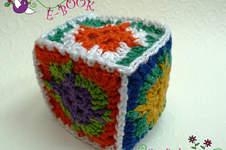 Makerist - Spielwürfel aus Granny Squares - 1