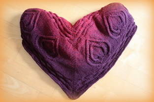 """Makerist - Babydecke """"Double Heart, MOM and BABY"""" - 1"""