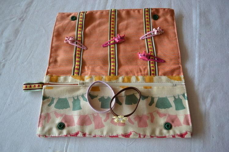 Makerist - Tuto de la trousse à barettes - Créations de couture - 1