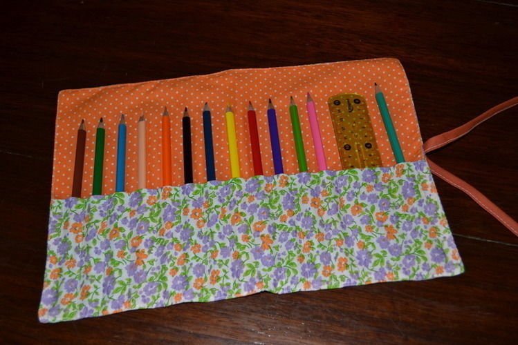Makerist - Tuto de la trousse à crayons roulée - Créations de couture - 1