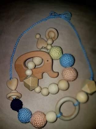 Greifling Babyspielzeug Stillkette