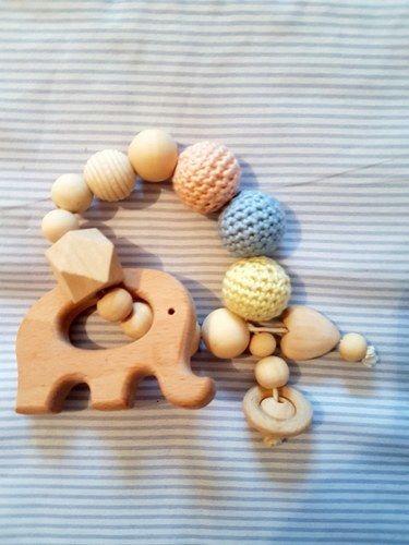 Makerist - Greifling Babyspielzeug Stillkette - Häkelprojekte - 2