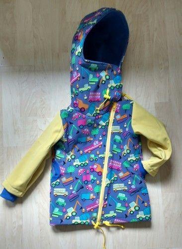 Makerist - Softshell Jacke für meinen Sohn zwei Nummern größer - Nähprojekte - 1