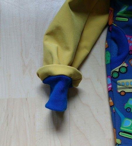 Makerist - Softshell Jacke für meinen Sohn zwei Nummern größer - Nähprojekte - 3