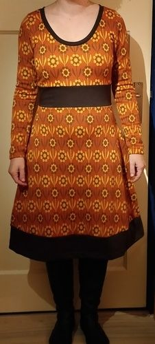 Makerist - Retro warm/winter dress - Nähprojekte - 1