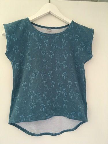 Makerist - T-Shirt Alizéa - Nähprojekte - 1