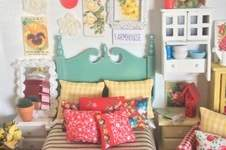 Makerist - Vintage Look Miniature Dollhouse Bedding - 1