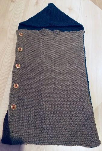 Makerist - Wolligwarmer Schlafsack fürs Baby - Strickprojekte - 1