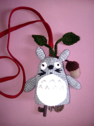 Makerist - Totoro Schlüsselverstecker - Häkelprojekte - 1