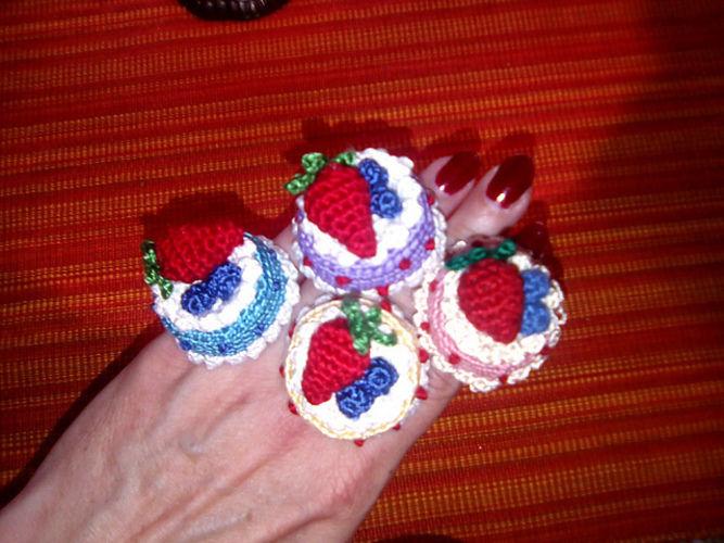 Makerist - Torten Ringe - Häkelprojekte - 2