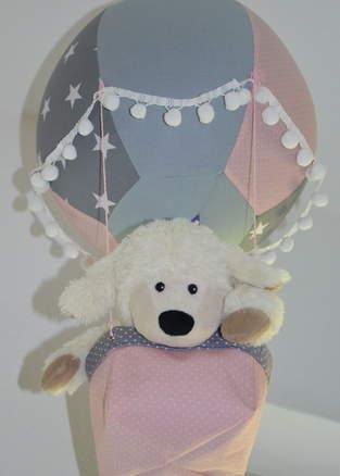 Makerist - Heißluftballon als Deko für ein Kinderzimmer  - 1