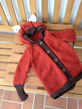 Fuchs Strickjacke