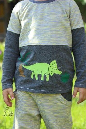 Makerist - Die Dinosaurier sind los - Nähprojekte - 2