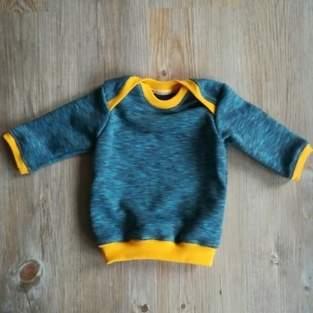 Makerist - Schlupfshirt für Neugeborenen - 1