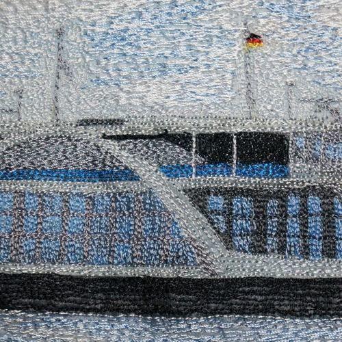 Makerist - Nähgemalter Miniquilt - Textilgestaltung - 2