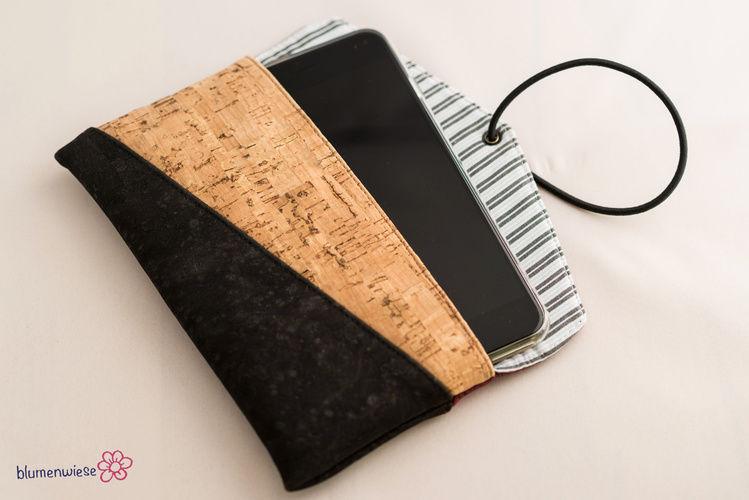 Makerist - Smartphonetasche aus Kork - Nähprojekte - 3