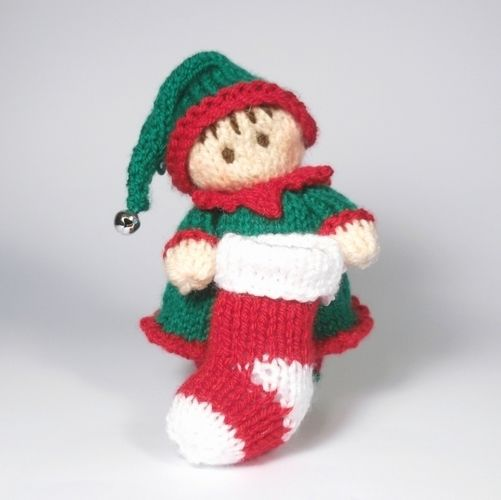 Makerist - Little Girl Elf Bitsy baby - Knitting Showcase - 1