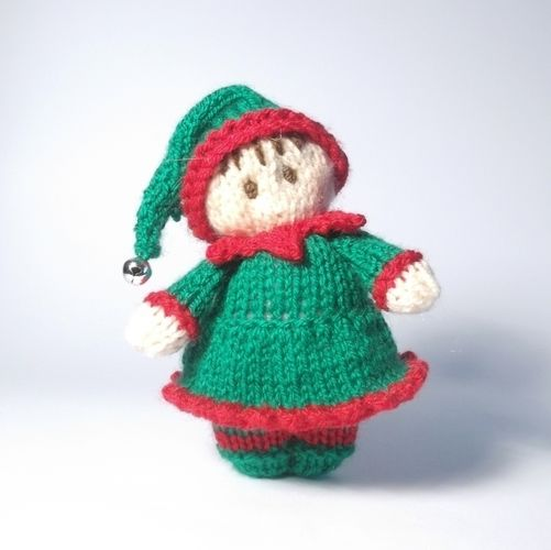 Makerist - Little Girl Elf Bitsy baby - Knitting Showcase - 2