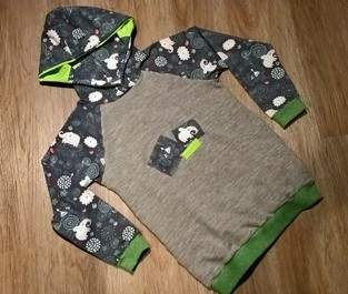 Makerist - Kinderpulli mit Kapuze aus Sweatshirts und Jersey - 1