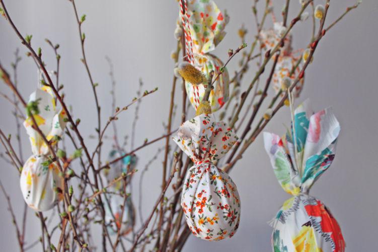 Makerist - Stoff-Ostereier für die Frühlingszweige - DIY-Projekte - 1