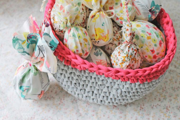 Makerist - Stoff-Ostereier für die Frühlingszweige - DIY-Projekte - 2