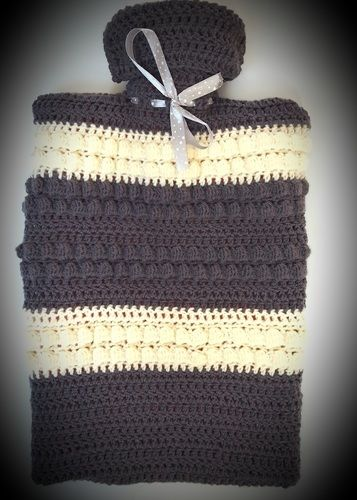 Makerist - Cosy hot water bottle cover - Créations de crochet - 1