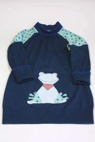 Makerist - Damenpullover wird zum Kinderkleidchen - 1