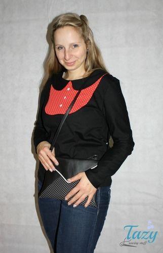 Makerist - Mathilda mit Bubikragen - Nähprojekte - 1