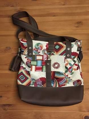 Meine erste selbstgenähte Tasche