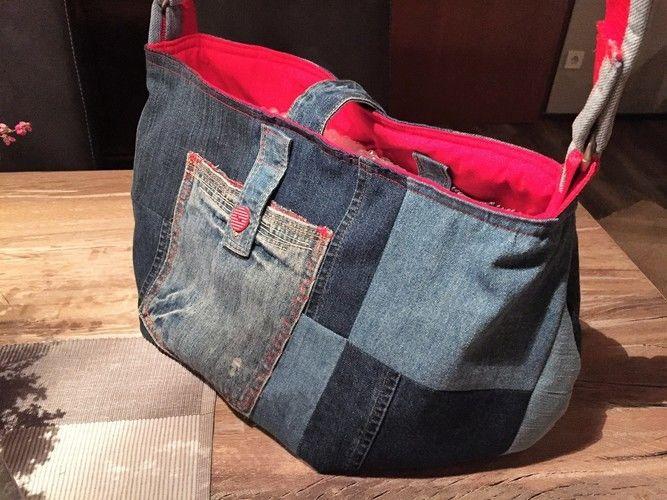 Makerist - Jeanstasche nach dem Schnittmuster von Vivika - Nähprojekte - 1