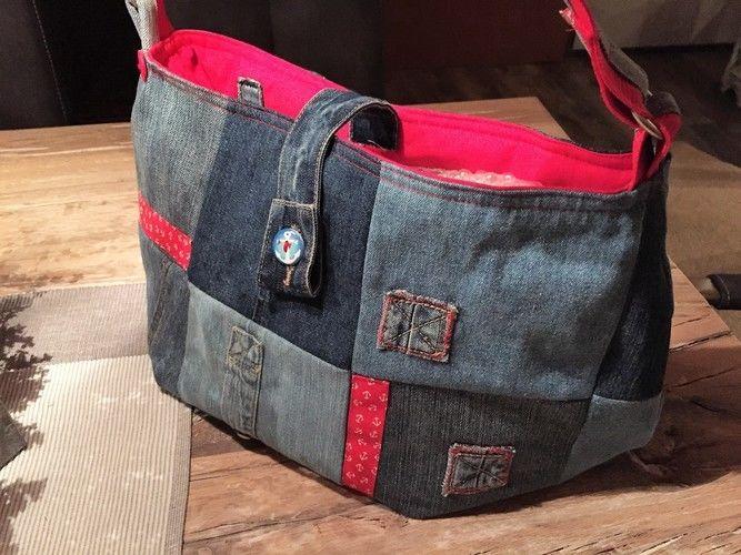 Makerist - Jeanstasche nach dem Schnittmuster von Vivika - Nähprojekte - 2