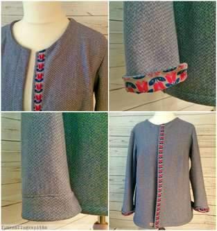 Makerist - Jacke aus Sweat - 1
