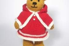 Makerist - Christmas Bitsy Teddy - 1