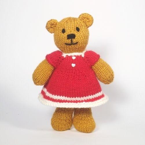 Makerist - Christmas Bitsy Teddy - Knitting Showcase - 3