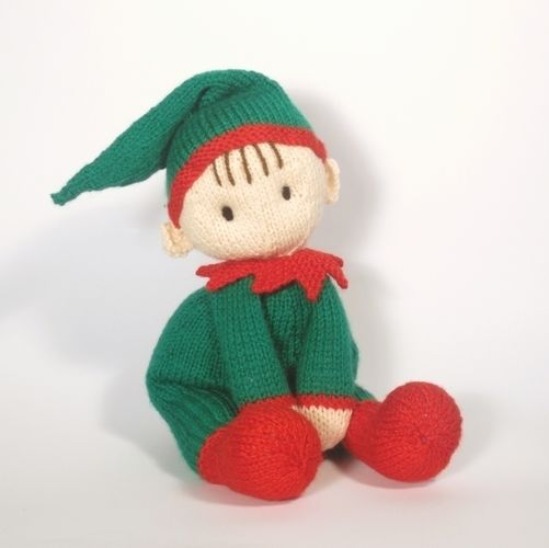 Makerist - Jo-Jo Cuddle Elf - Knitting Showcase - 1
