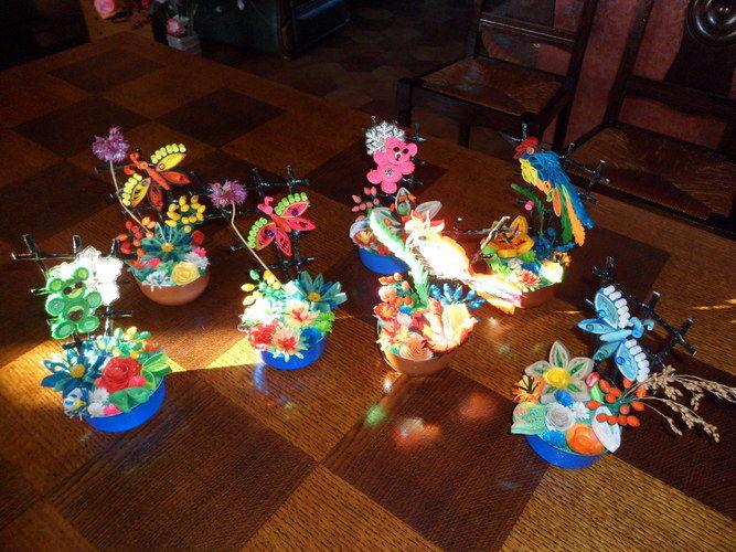 Makerist - Quilling - Oiseau Pie-vert - Autres créations - 2