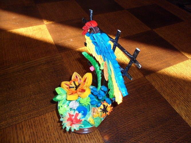 Makerist - Quilling - Oiseau - Autres créations - 2