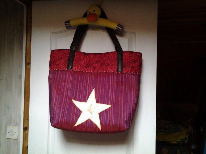 Makerist - sac en tissu style cabat pour concours    - Créations de couture - 1