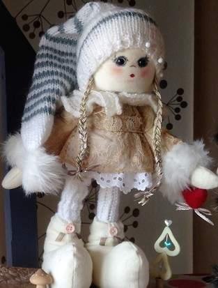 Makerist - Poupée de Noël - 1