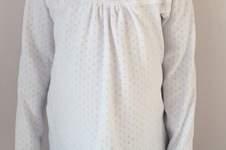 Makerist - Weißes Girly-Shirt mit Spitze - 1