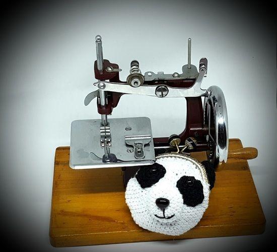 Makerist - Porte-monnaie Panda - Créations de crochet - 1