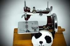 Makerist - Porte-monnaie Panda - 1