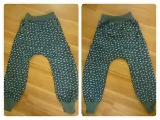 Makerist - coole Dino Jeans mit großer Autosammeltasche vorne und Label an der Potasche  für meine Zwillingsjungs  - 1
