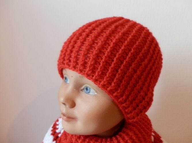 Makerist - Mütze mit Relief Stäbchen - Häkelprojekte - 1