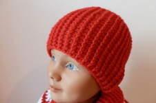Makerist - Mütze mit Relief Stäbchen - 1