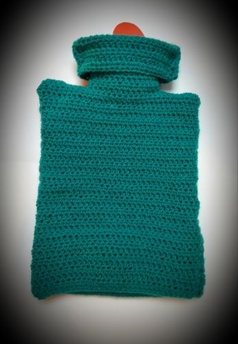 Makerist - cosy hot water bottle cover - Créations de crochet - 2