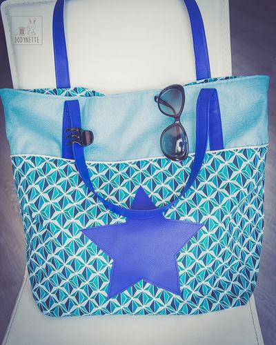 """Makerist - Concours Novembre : Le sac de plage """"Summer Bag"""" de Jane Emilie  - Créations de couture - 1"""