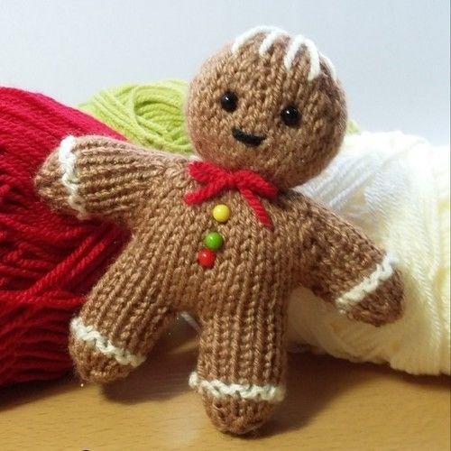 Makerist - Gingerbread man - Knitting Showcase - 1