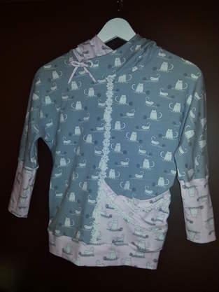 Fledermausshirt für Mädchen